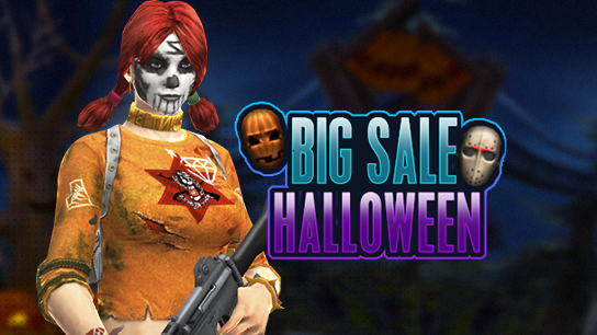 Big Sale - Halloween (23/10 ~ 05/11)