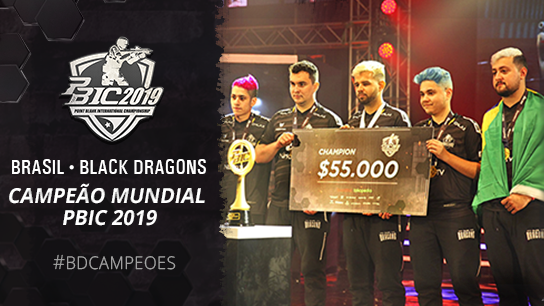 Black Dragons e PBIC 2019!